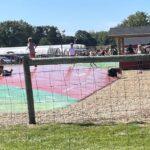 Air filled trampoline